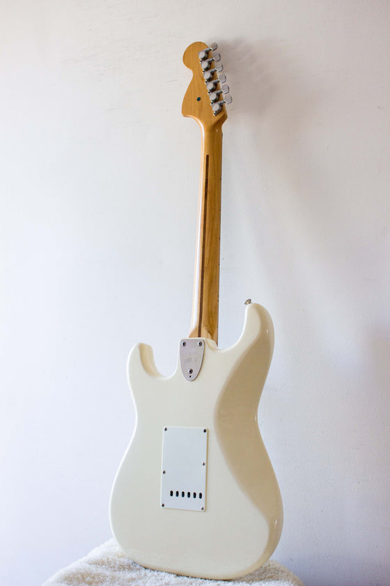 Squier MIJ Stratocaster CST-50 Scalloped Olympic White JV Serial 1983