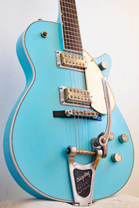 Gretsch Terada Custom Studio 5128 Duo Jet Light Blue 1995