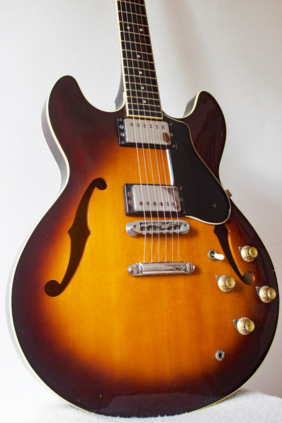 Yamaha SA-1200S Semi-Hollow Brown Sunburst 1980