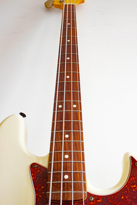 Fender Japan Standard Jazz Bass JB-45J Vintage White 1999-02