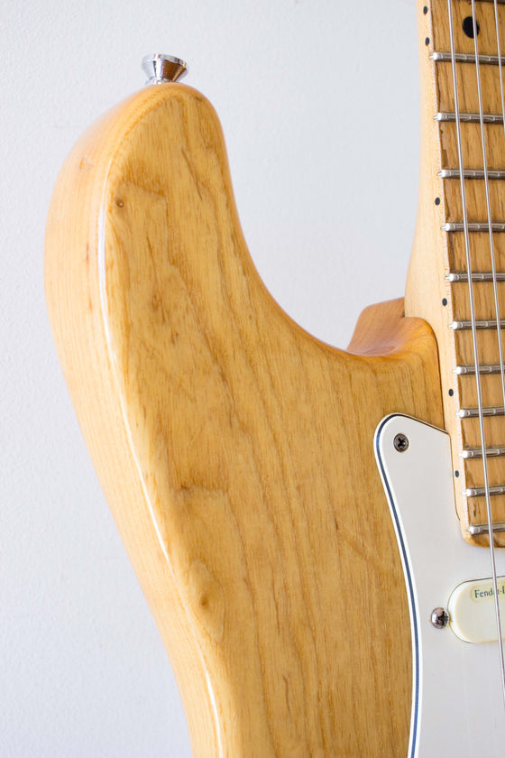 Fender Strat Plus Natural Ash 1993