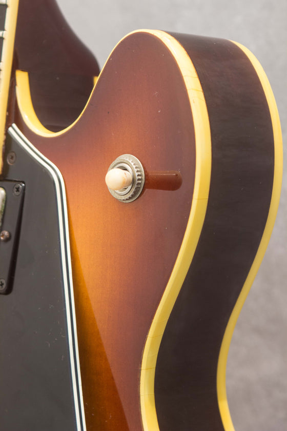 Greco SA-500 Semi-Hollow Brown Sunburst 1980