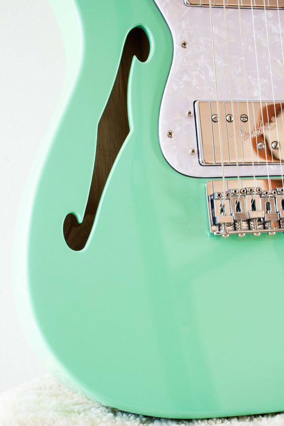 Fender Made in Japan Traditional 70s Telecaster Thinline Surf Green 2018