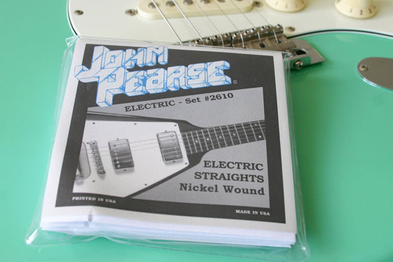 John Pearse Electric String Set Pure Nickel 11/50