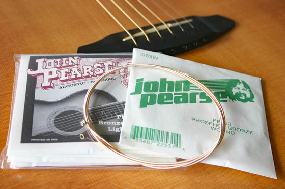 John Pearse Acoustic Steel String Set Phosphor Bronze 12/53