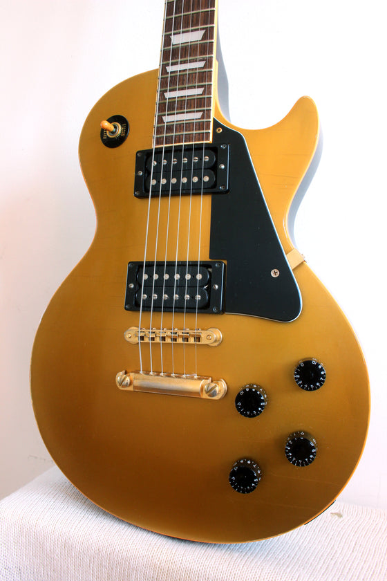 Used Greco LP EG-450 Gold Top Modded 1978