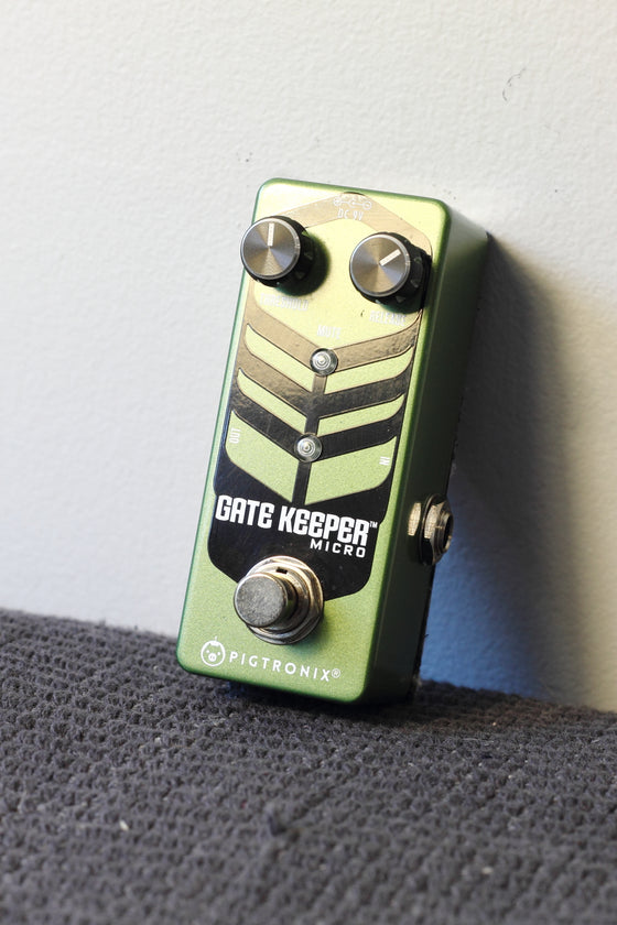Pigtronix Gate Keeper Micro Noise Gate Pedal