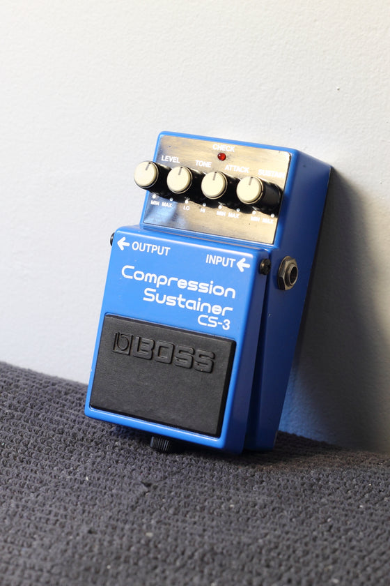 Boss CS-3 Compression/Sustainer Pedal MIJ 1987