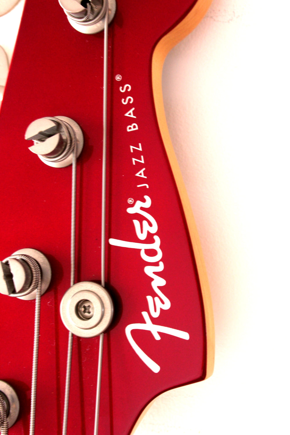Used Fender Aerodyne Jazz Bass Old Candy Apple Red