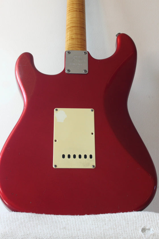 Fender 40th Anniversary Stratocaster Candy Apple Red 1994
