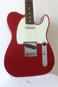 Fender Japan '62 Reissue Telecaster TL62B-75TX Bound Candy Apple Red 2004-05