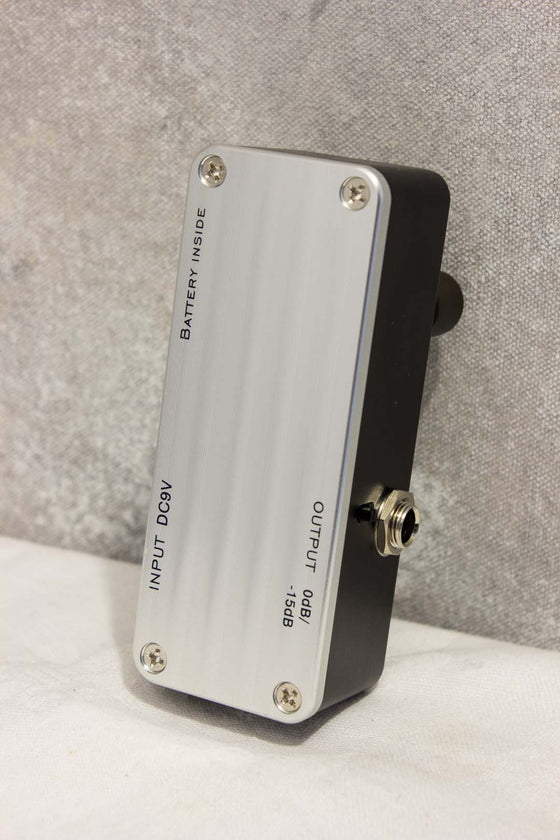 OneControl Sonic Silver Peg Bass Preamp Pedal