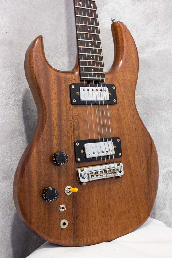Rama Guitars SG Style Left Handed Natural Gloss c1985
