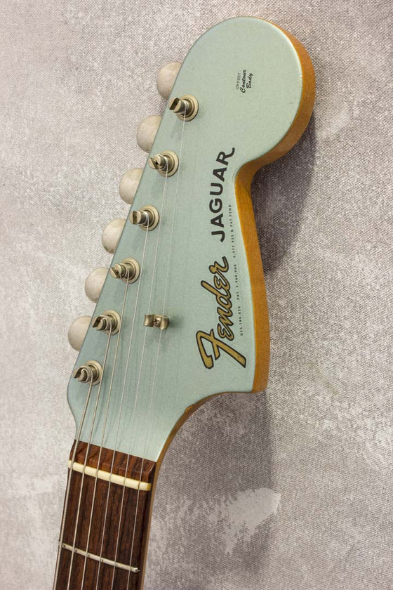 Fender American Vintage '62 Jaguar Ice Blue Metallic 2000