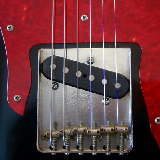 Used Fender Telecaster Custom CIJ Black 2000