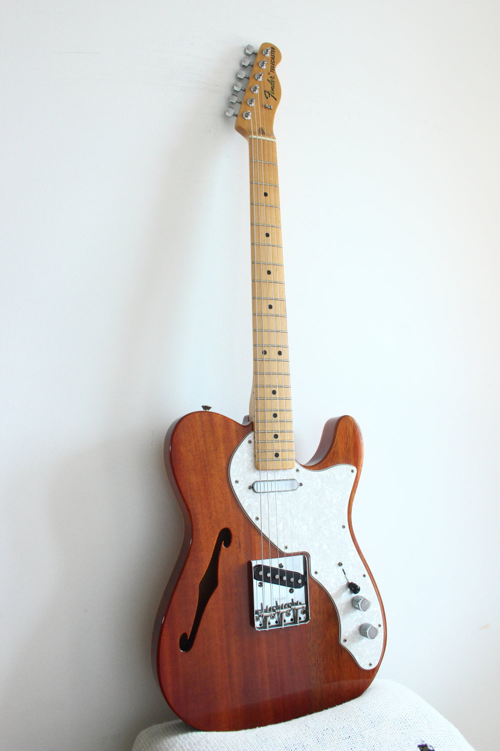 Fender Classic Series '69 Telecaster Thinline Natural Mahogany 2008