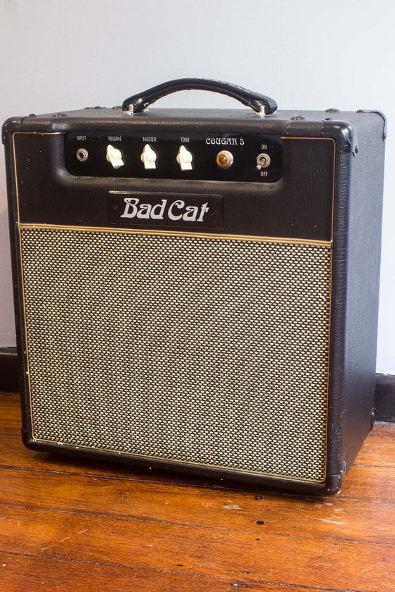 "Bad Cat Cougar 5 5W 12"" Guitar Combo Amp"