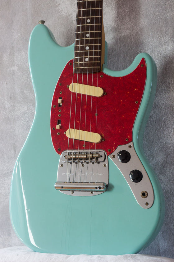 Fender Japan '69 Reissue Mustang MG69-65 Aged Sonic Blue 1995