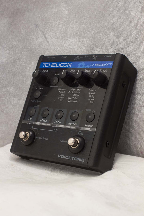 TC Helicon Voicetone Create XT Vocal Pedal