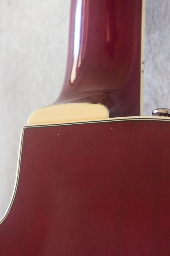 Washburn J9 Hollow Body Cherry Red 2000