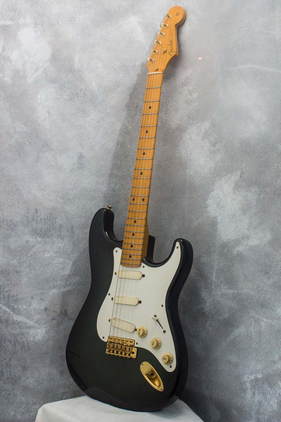 Fender Japan '57 Stratocaster ST57-105 Dark Olive Burst 1987