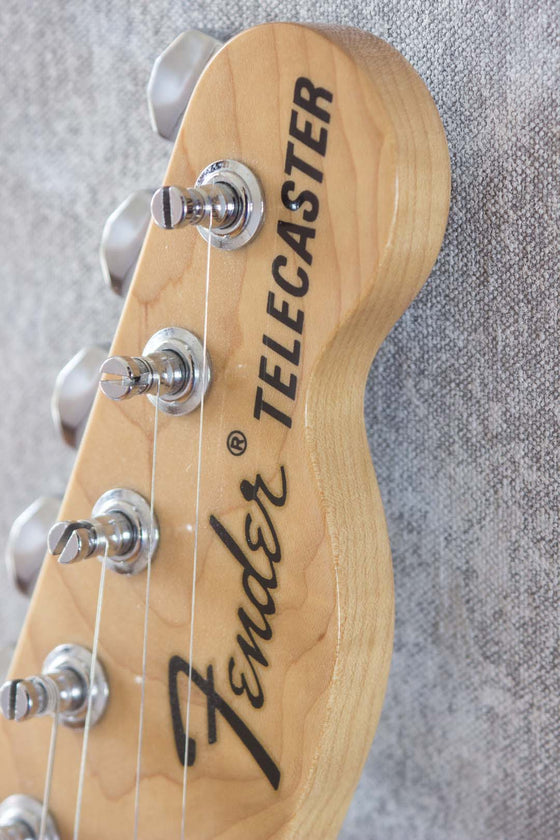 Fender Japan '71 Telecaster TL71-58 Rebel Yellow 2004