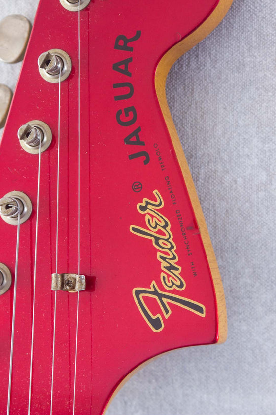 Fender Japan Jaguar JG66-85 Candy Apple Red 2000