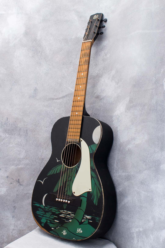 Hawaiian Club Painted Parlour Acoustic c1938