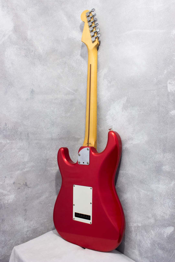 Fender Japan Medium Scale Stratocaster STM550G Candy Apple Red 1990
