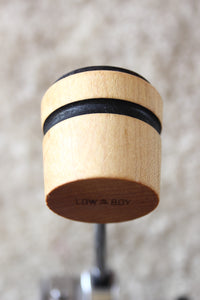 Low Boy Lightweight Leather Daddy Beater Natural with Black Stripe