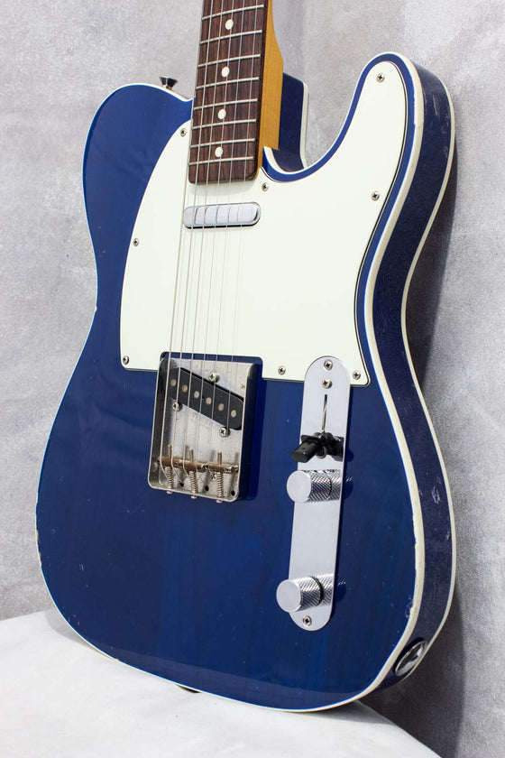 Fender Japan '62 Telecaster TL62B Double Bound Trans Blue 2016
