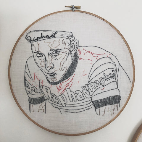 Anquetil embroidery