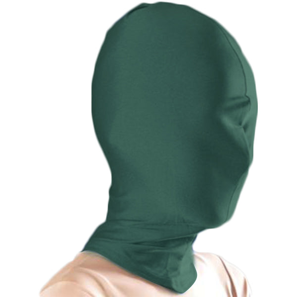 JustinCostume Lycra Spandex Full Cover Zentai Hood Mask - JustinCostume
