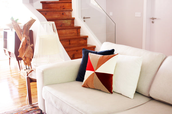 velvet luxury cushion decor