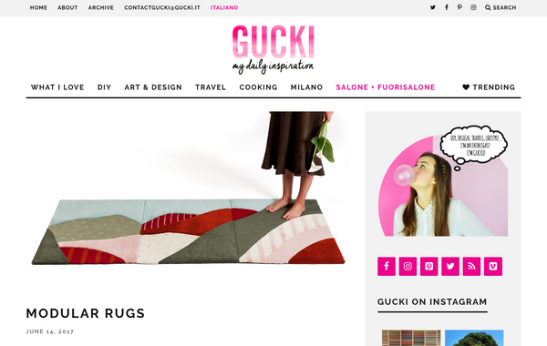 Gucki blog features my friend paco homewares