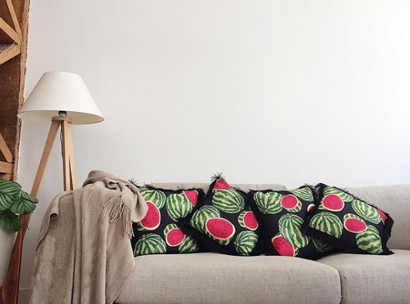 watermelon cushion decor my friend paco