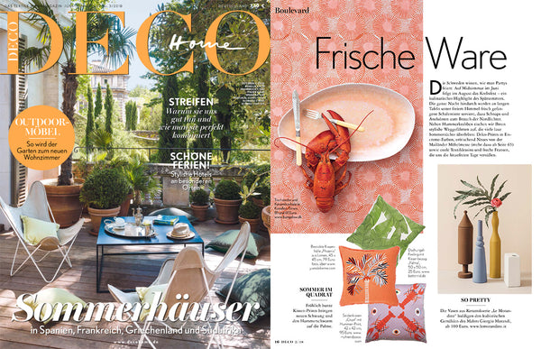 My Friend Paco silk cushion at Deco Home Germany Magazine