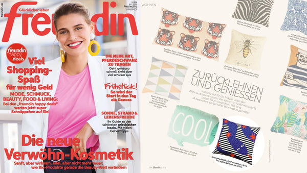 RYTA cushion at Freudin magazine MY FRIEND PACO