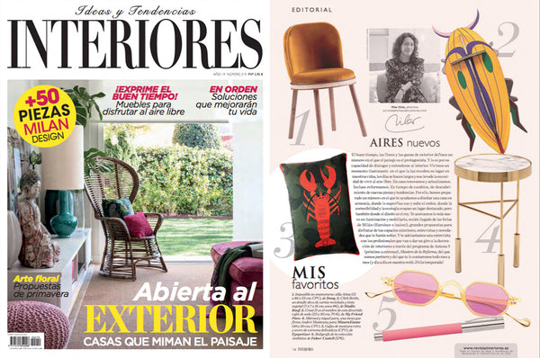 crust silk pillow interiores revista
