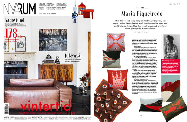interview with My friend paco's founder and creative director Maria Figueiredo at NYA RUM swedish magazine