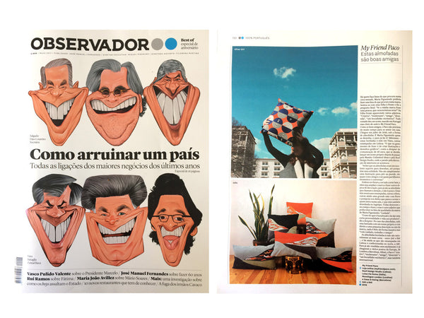 Revista observador features my friend paco homewares