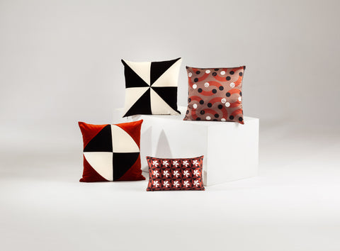 silk cushion designer cushions, silk scarfs, rugs and bags - My Friend Paco