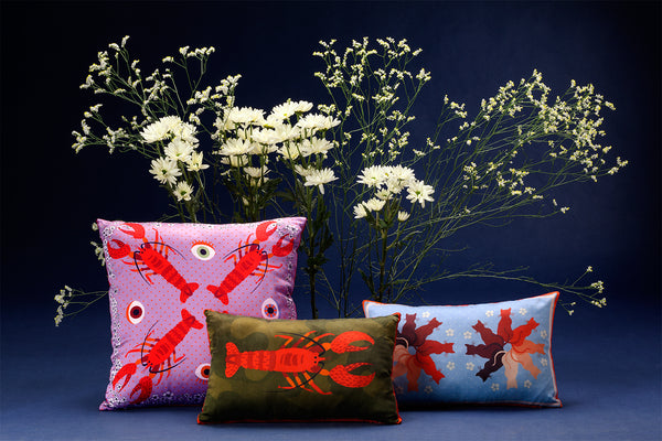 silk pillows decor