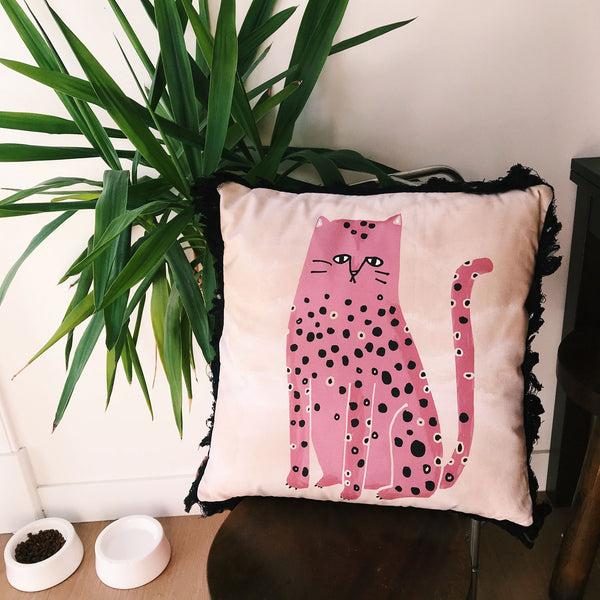 fat cat pillow design for home decor