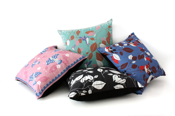 designer floral decorative cushions by my friend paco