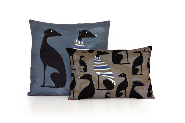 GREYHOUND decorative cushion for home decoration by My Friend Paco