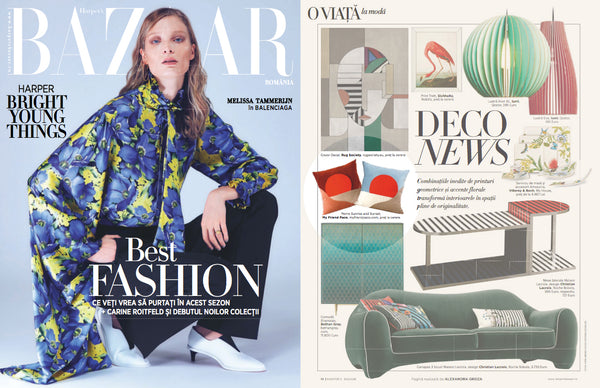 My Friend Paco velvet designer cushion at harpers bazaar romania