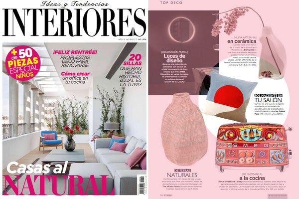 my friend paco at revista interiores
