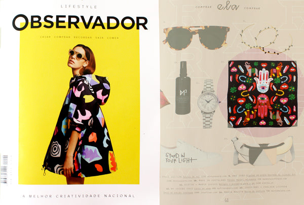 my friend paco LUK scarf at Observador lifestyle magazine