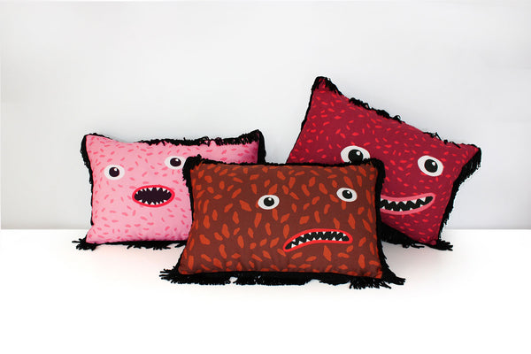 designer fun cushion My Friend Paco